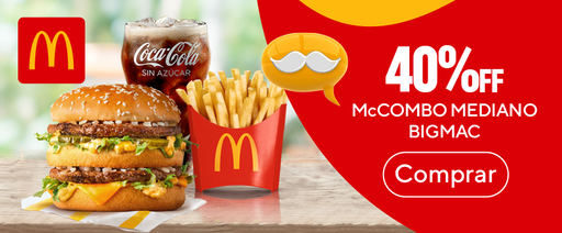 Big Mac 40% Off