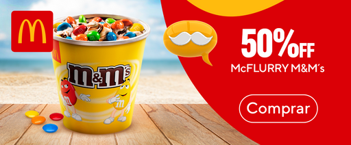 Mc Flurry M&M 50%