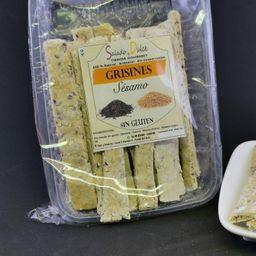 Grisines de Sésamo sin Gluten