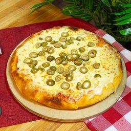 Pizzeta con Muzzarella y Aceitunas