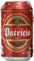 Cerveza Patricia Lata