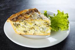 Tarta de Puerro y Muzzarella