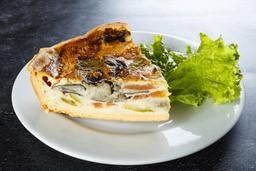 Tarta de Berenjena, Zuccini y Muzza