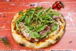 Pizzeta Jamón Crudo y Rúcula