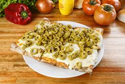 Pizza Muzzarella + 1 gusto