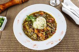Curry de Verduras con Cous Cous
