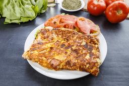 Omelette con Ensalada Mixta