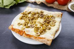 Porción de Muzza + 1 Gusto