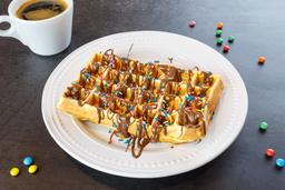 Waffles con Salsa