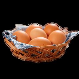 Huevo Color Envasado X 6 El Jefe - Un