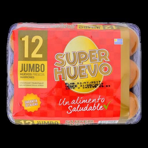 Super Huevo Jumbo Colorpq. 12 Un