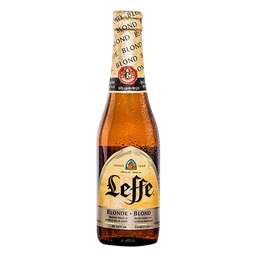 Cerveza Leffe Blonde Bt 0.33 Lt