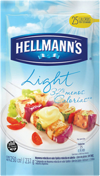 Mayonesa Hellmann'S Light - Sc .25 Lt