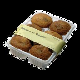 Industria Uruguaya Muffins De Vainilla C/Chispas