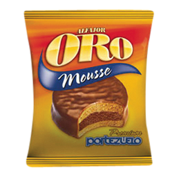 Portezuelo Alfajor Mousse Oro