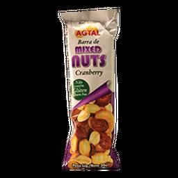 Agtal Barrita Cereal Mix Nuts Cranberry