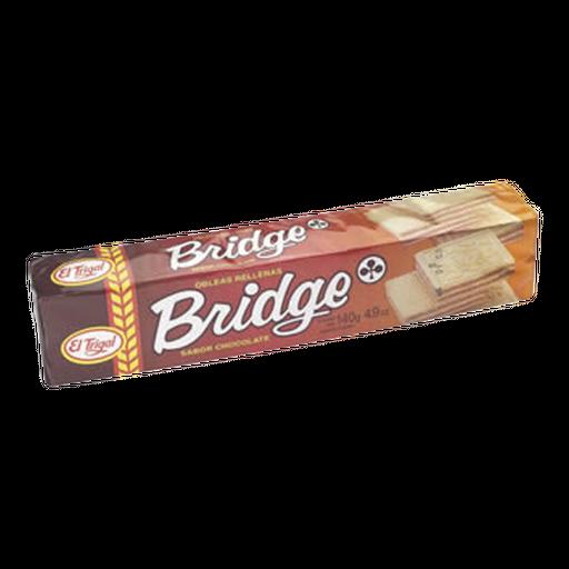 Galletas Bridge Obleas El Trigal Sabor Chocolate
