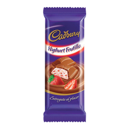 Chocolate Cadbury Yogurth Frutilla 160 g