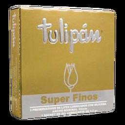 Tulipan Preservativo Super Fino