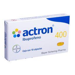 Actron 400 Mg Rapida Accion