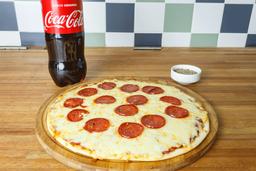 Pizzeta c/gustos + Refresco 1,5 Lt