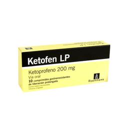 Ketofen Lp 200 Mg 10 Comprimidos