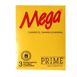 Prime Preservativo Mega X3