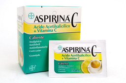 Aspirina C Caliente Sobre