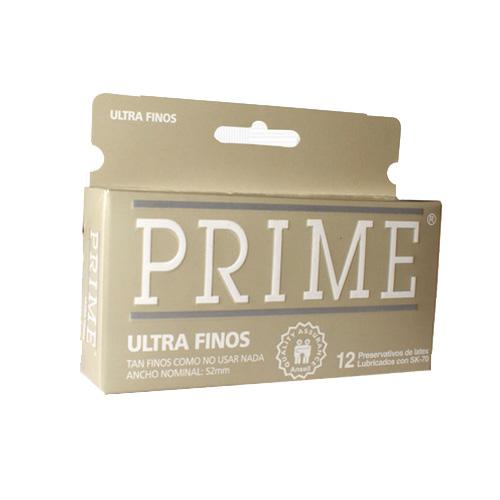 Prime Preservativo Ultrafino X12
