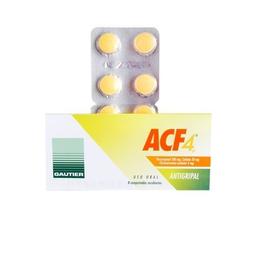 Acf4 8 Comprimidos