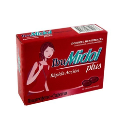Ibumidol Plus X 20 Capsulas