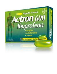 Actron 600 Mg Rapida Accion 10 Capsula