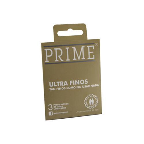 Prime Preservativo Ultrafino X3