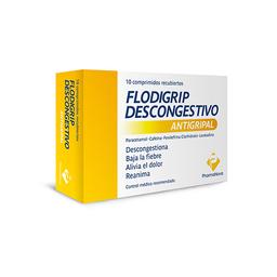 Flodigrip Nf Descongestivo Comprimidos