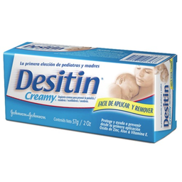 J&J Desitin Creamy 57 Grs.