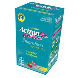 Actron Pediatrico 4 % 100 Ml
