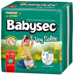 Babysec Voy Solito Xg/Xxg X20