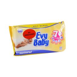 Evy Baby Toallitas Humedas Soft X60