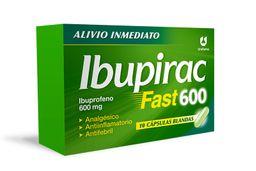 Ibupirac Fast 600 Mg 10 Capsulas