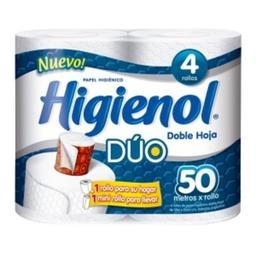 Higienol Premium De Hoja Duo X4 50 M