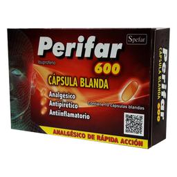 Perifar 600 Mg 10 Capsulas Blandas