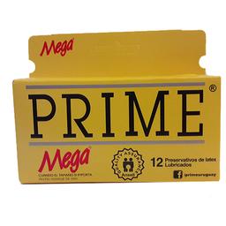Prime Preservativos Mega X12
