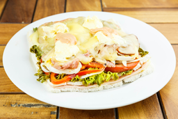 Sándwich Caliente Completo
