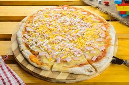 Pizzeta Muzzarella + 3 Gustos