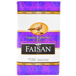 Faisán Tannat Cabernet 1 L