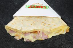 Crepe con Mozza y Jamón Crudo