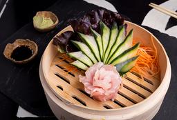 Sashimi de Pescado Blanco x4