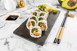 Skin Teriyaki Roll