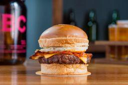 Bacon Cheeseburger & Papas Fritas