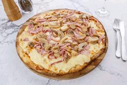 Pizzeta Champignon y Jamón